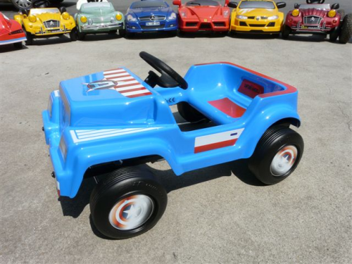 VOITURE A PEDALES CAPTAIN AMERICA 4X4 TOYS TOYS