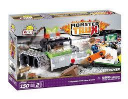 JEU DE CONSTRUCTION COBI - CRAWLER DESTROYER REF 20053 MONSTER TRUX