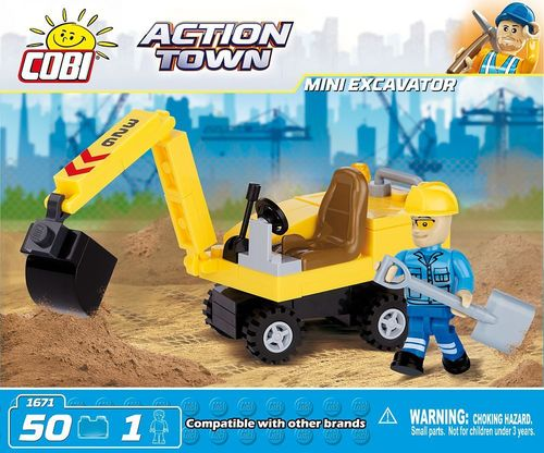 JEU DE CONSTRUCTION COBI MINI PELLE REF 1671