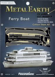 MAQUETTE METAL EARTH - FERRY BOAT - REF MMS068