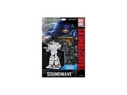 MAQUETTE METAL EARTH SOUNDWAVE TRANSFORMERS MMS302