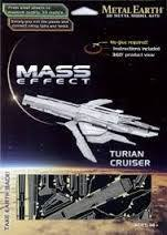 MAQUETTE METAL EARTH - MASS EFFECT - TURIAN CRUISER - REF MMS312
