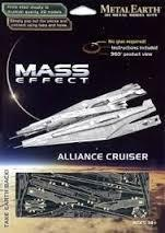 MAQUETTE METAL EARTH - MASS EFFECT - ALLIANCE CRUISER - REF MMS313