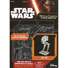 MAQUETTE METAL EARTH STAR WARS AT-ST REF MMS261