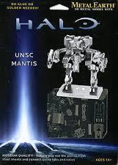 MAQUETTE METAL EARTH HALO UNSC MANTIS REF MMS293