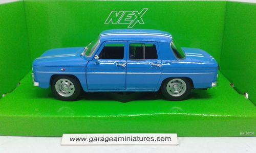 RENAULT R8 GORDINI BLEUE WELLY ECHELLE 1/24