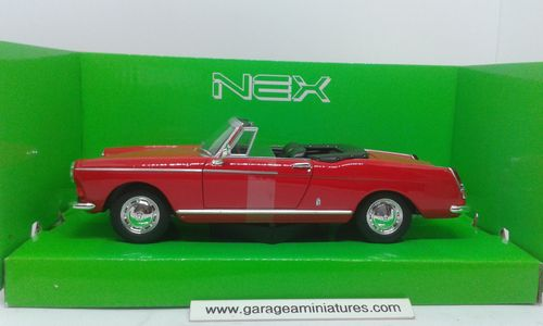 PEUGEOT 404 CABRIOLET WELLY REF 22494C ECHELLE 1/24