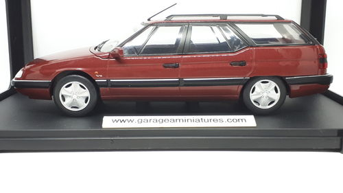 CITROEN XM BREAK ROUGE WHITEBOX ECHELLE AU 1/24 EME